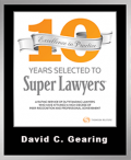 SuperLawyer10YearDavid
